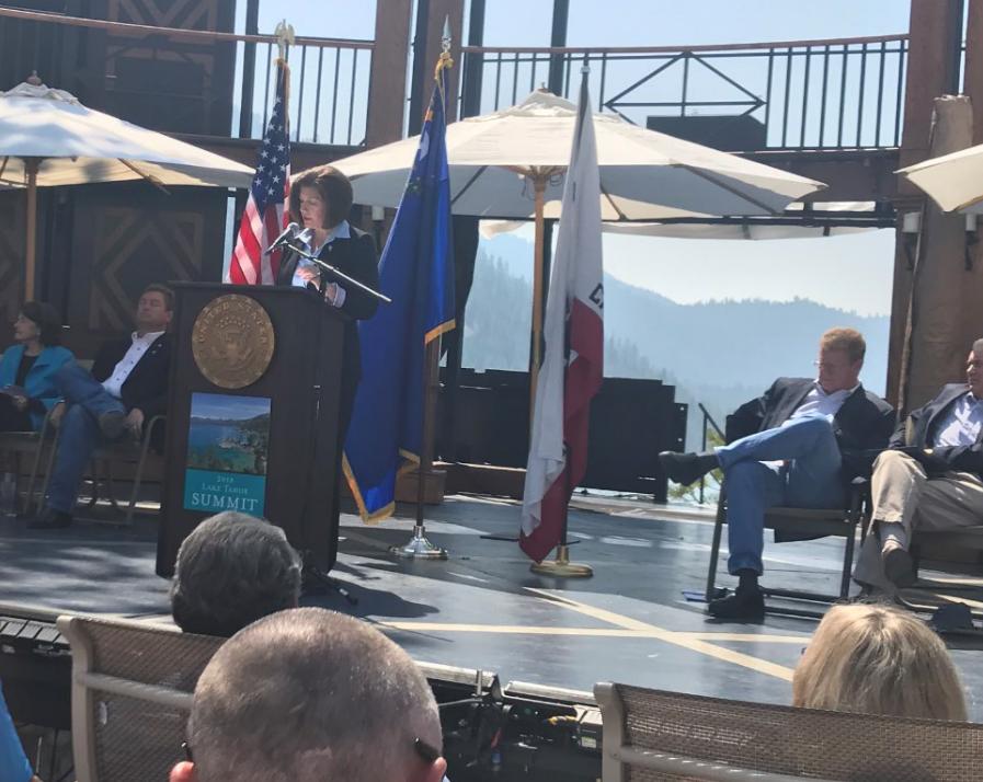 Cortez Masto at 2018 Tahoe Summit