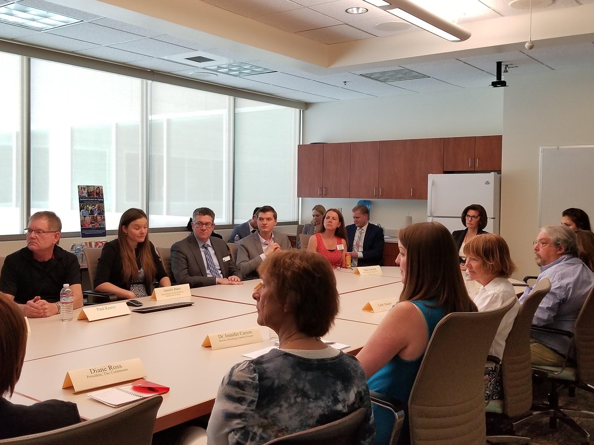 Cortez Masto meets with Alzheimer's advocates