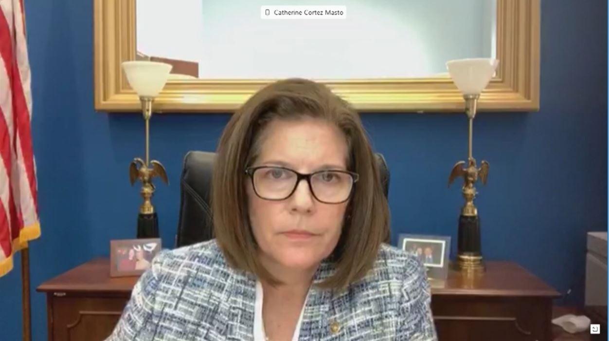 Cortez Masto Banking Hearing Secretary Carson