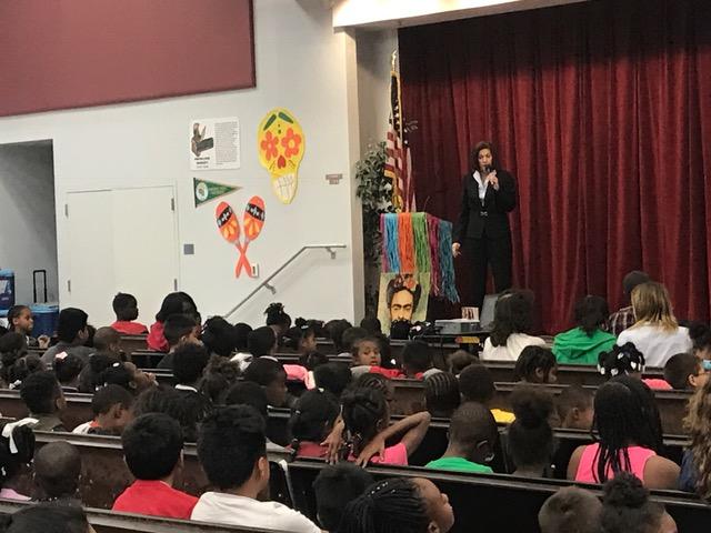 Cortez Masto Speaks at Wendell Williams Elementary